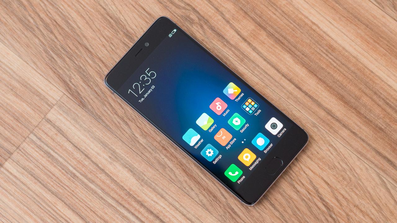 Xiaomi Mi5s Smartphone deep gray / black / schwarz