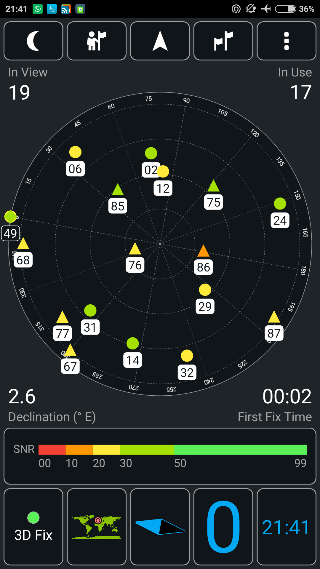 Xiaomi Mi5s GPS