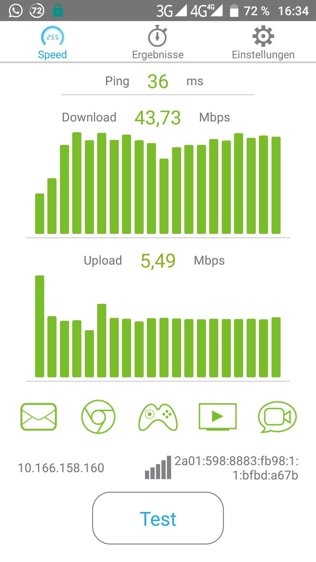 "UMI Z 5,5"" Smartphone - LTE (50Mbit/s)"