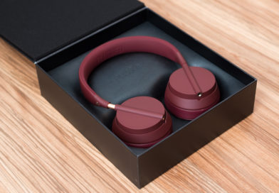 Plugged Crown Over-Ear Kopfhörer Bordeaux