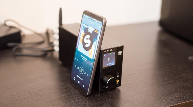 SMSL AD18 Class-D Stereo Verstärker mit Bluetooth & USB