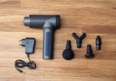 Massagepistole 6-Gang mit Akku und austauschbaren Köpfen